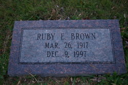 Ruby Eleanor <i>Butcher</i> Brown