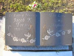 Jacob K Toews
