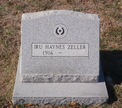 Iru Elizabeth <i>Haynes</i> Zeller
