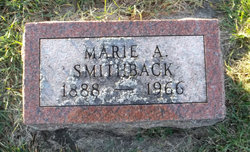 Marie A Smithback
