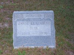 Janie Elizabeth Blue