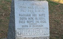 Hannah G. <i>Branshus</i> Johnson