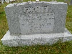 Mary Alice <i>Williams</i> Foote