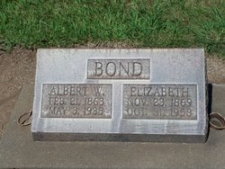 Albert W Bond