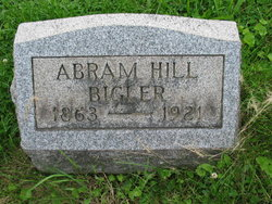 Abram Hill Bigler