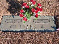 Annie Margie <i>Rowden</i> Evans