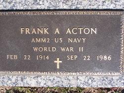 Frank A Acton