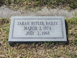 Sarah Jane <i>Butler</i> Bailey