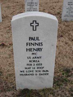 Paul Finnis Henry