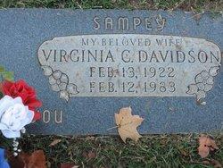 Virginia C <i>Sampey</i> Davidson