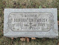 Bertha A <i>Schubert</i> Grambley