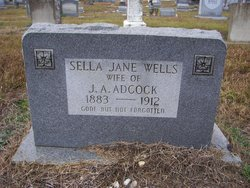Sella Jane <i>Wells</i> Adcock