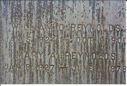 Mary Ann <i>Moore</i> Reynolds