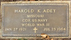 Harold Kenneth Adey