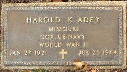 Harold Kenneth Adey