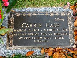 Carrie <i>Rivers</i> Cash