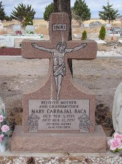 Mary <i>Carbajal</i> Baca