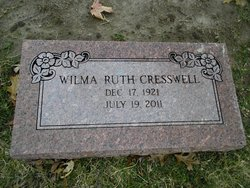 Wilma Ruth Cresswell