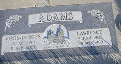 Lawrence E Adams