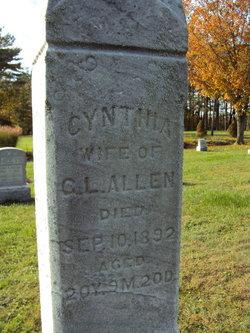 Cynthia <i>Robinson</i> Allen