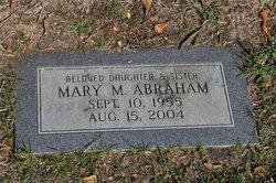 Mary M Abraham