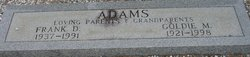Frank D Adams