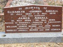 Elizabeth <i>Coombs</i> Argall
