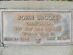Sgt John Brooks