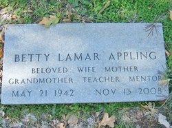 Betty Gail <i>Lamar</i> Appling