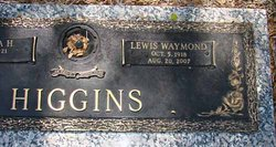Lewis Waymond Higgins