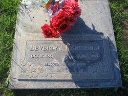 Beverly Jean <i>Furgerson</i> Fairchild