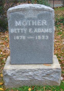 Betty E. Adams