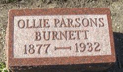 Ollie <i>Parsons</i> Burnett