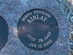 Donna Erickson Ainlay