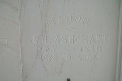 Maj James Harrison Ashcraft
