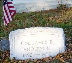 Col James B Anderson