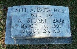 Nell A <i>McEachern</i> Barr