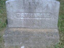 Catherine <i>Butterfoss</i> Holcombe