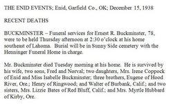 Ernest Richard Buckminster