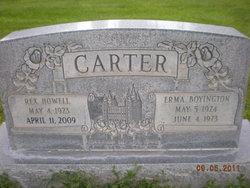 Erma May <i>Boyington</i> Carter