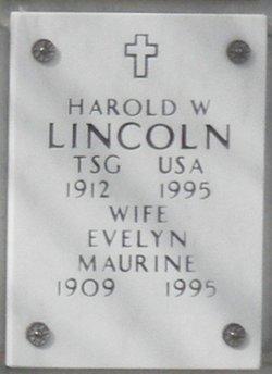 Harold W Lincoln