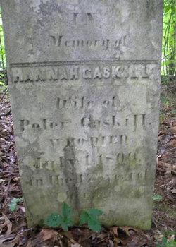 Hannah <i>Thompson</i> Gaskill