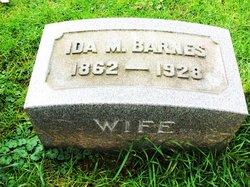 Ida M <i>Garman</i> Barnes