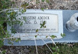 Christine Loretta <i>Adcock</i> McGoogan