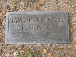 Margaret Emma Maggie <i>Troxell</i> Barker