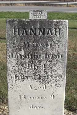 Hannah <i>Smith</i> Nottingham