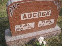 Cora <i>Gilbert</i> Adcock
