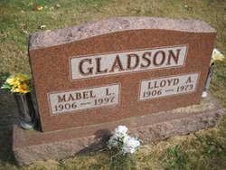 Mabel Leona <i>Adcock</i> Gladson