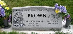 Viola Rosa <i>Hymas</i> Brown