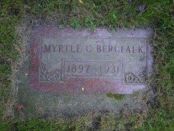 Myrtle C <i>Lagergren</i> Bergfalk